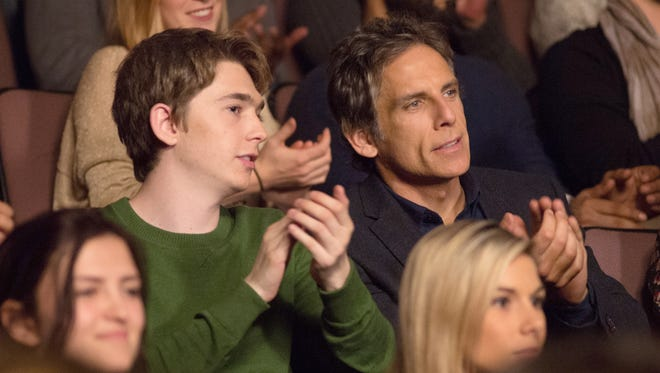 """Troy (Austin Abrams) and his father (Ben Stiller) are visiting colleges in """"Brad's Status."""""""
