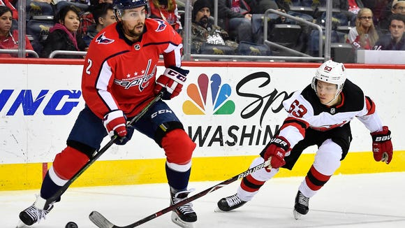 Washington, DC, USA; Washington Capitals defenseman