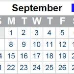 September 2014 events