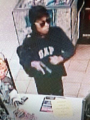 Metro police are asking the public to help them identify a person who allegedly robbed a Hermitage gas station at gunpoint early Sunday.