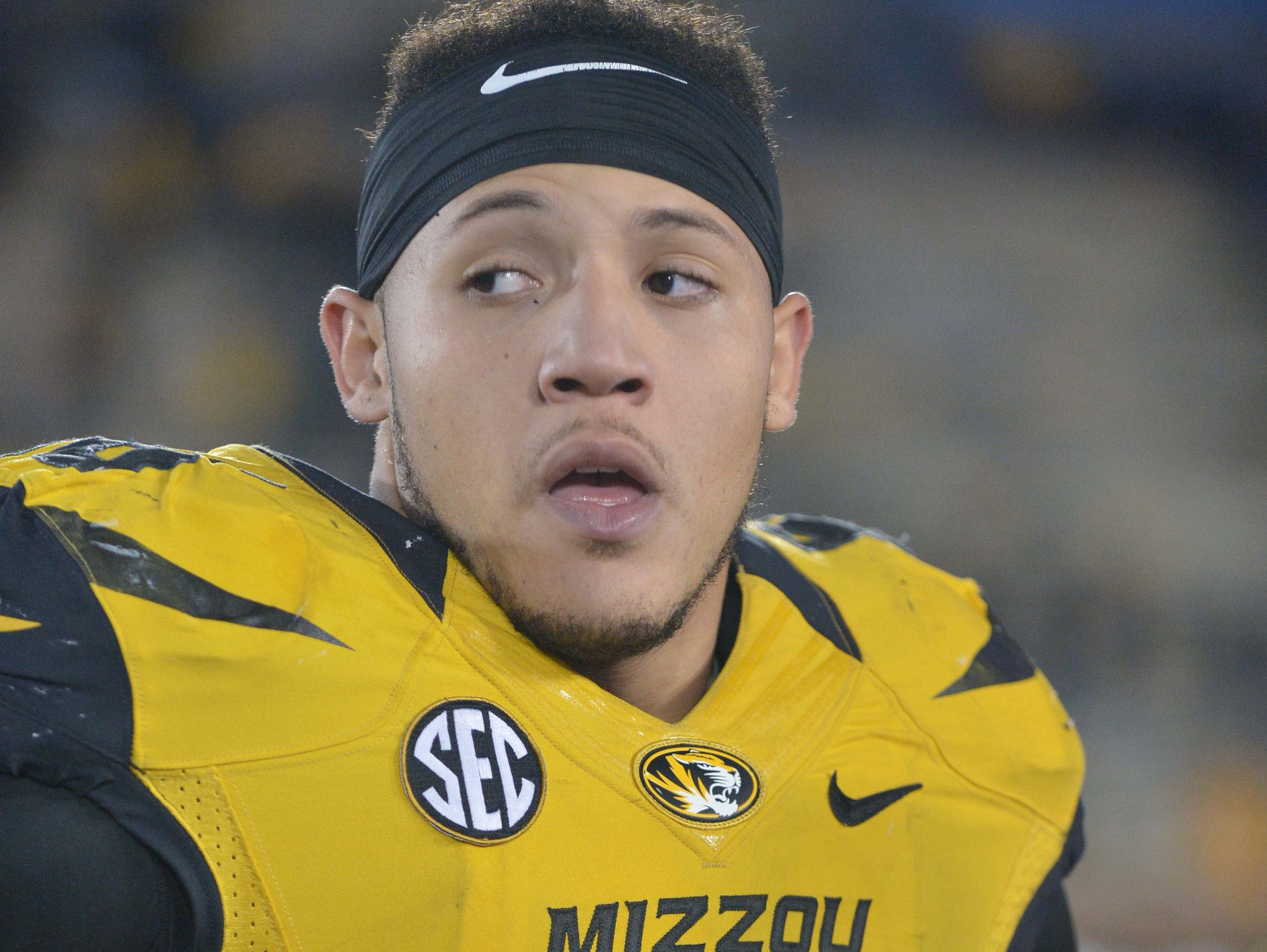 Missouri Tigers defensive lineman Shane Ray was named SEC Defensive Player of the Year on Monday.