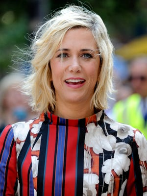 """Actress Kristen Wiig arrives at the """"Welcome to Me"""" premiere during the Toronto International Film Festival on Sept. 5."""