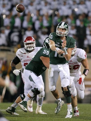 Michigan State quarterback Connor Cook has put together three consecutive performances that should put him back in consideration for the Heisman Trophy.