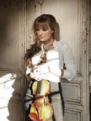 Nicola Benedetti performs the Brahms Violin Concerto with the Royal Scottish Orchestra Monday.