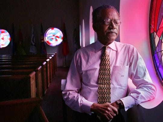"The Rev. Samuel ""Billy"" Kyles, pastor at Monumental Baptist Church, poses for a photo Jan. 8, 2005, in Memphis."