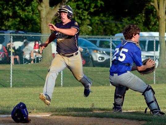 PHOTOS: York vs Shiloh American Legion baseball