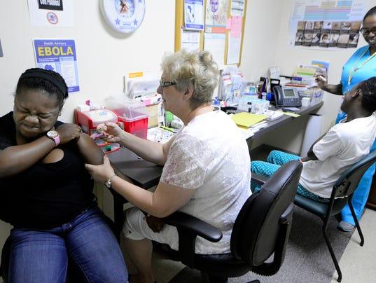 PHOTOS: Back to School vaccine clinic