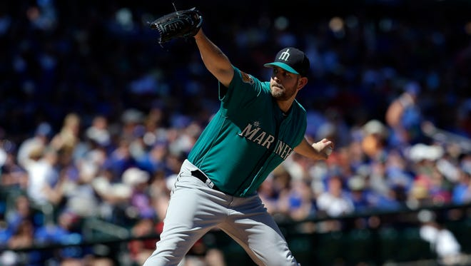 Mariners left-hander James Paxton is set to start the home opener Monday at Safeco Field.