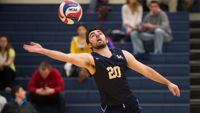 Cole Aiazzi, a Yerington native, earned conference defensive player of the year and NCAA Division III men's volleyball All-America honors recently as a senior at Lakeland College.