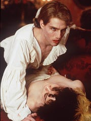 Tom Cruise portrays the vampire Lestat in the 1994 film 'Interview with the Vampire.'