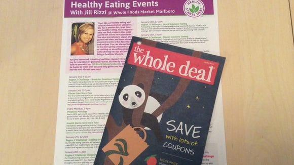 Jill Rizzi of Whole Foods Markets in Marlboro offers monthly healthy eating events and was a great resource for living a more natural and preservative-free life. Whole Foods also offers coupons online and in a printed booklet.