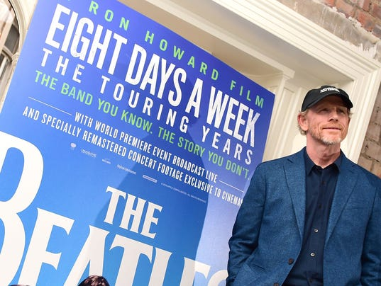 Ron Howard's documentary 'Eight Days a Week' chronicles the Beatles' amazing ride as a touring band