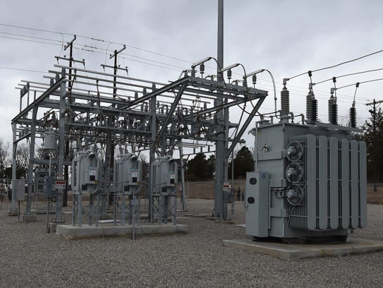 The Clarkridge Substation is one of 28 electrical substations