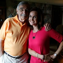 Father-daughter media favorites, Dick and JoAnne Purtan, bond over radio