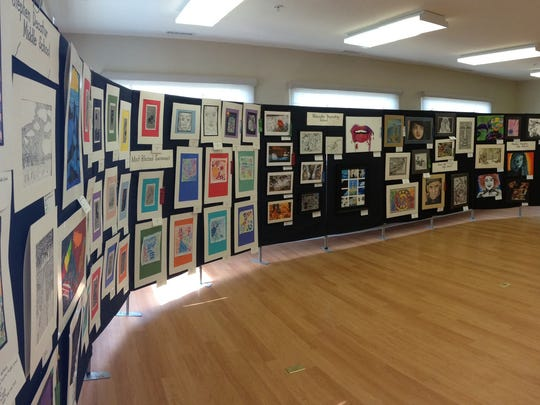 Works by student artists from Worcester County schools