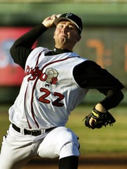Casey Janssen went 4-0 on the mound during a strong and brief stint with the Lugnuts in 2005.