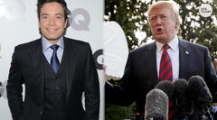 Refugees in Texas just got a donation in Donald Trump's name... from Jimmy Fallon.