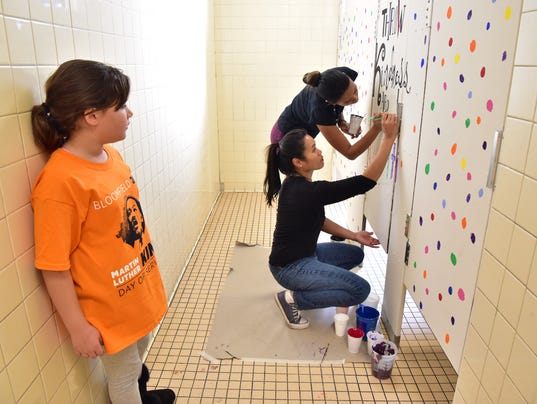 Bloomfield students' MLK Day of Service -- Saturday