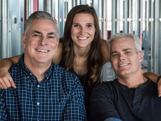 Tim, Ben and Brooke