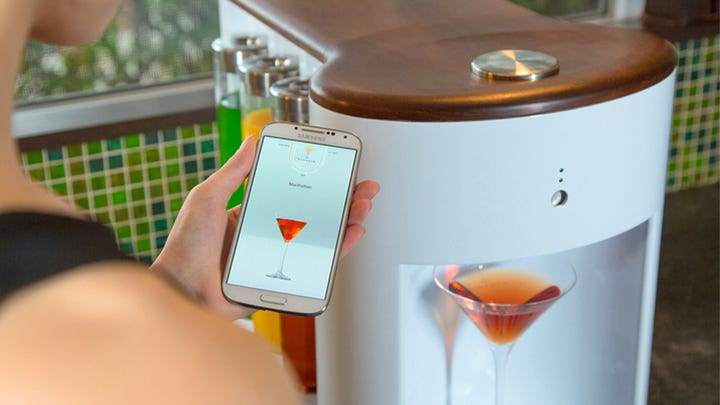 A robot could be your own personal bartender