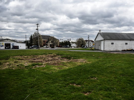 This empty lot is where Bethel Township will build a new township building, according to Terry Knapp, chairman of the board of supervisors in Bethel Township,  on Friday, April 8, 2016.