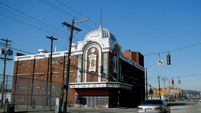 The former Casino Theater, also known as the Regal, was built in 1908 on Linn Street in the West End neighborhood of Cincinnati on Tuesday, Feb. 13, 2018.