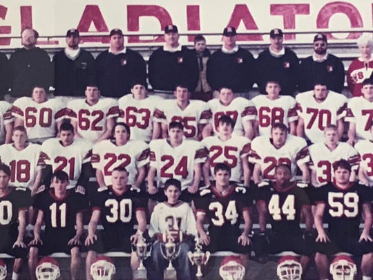The Riverheads High School Football team of 2000 that won the state championship was inducted into the school's Hall of Fame in 2017.