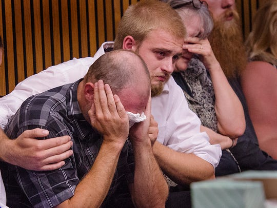 Family of the victims listen to impact statements from