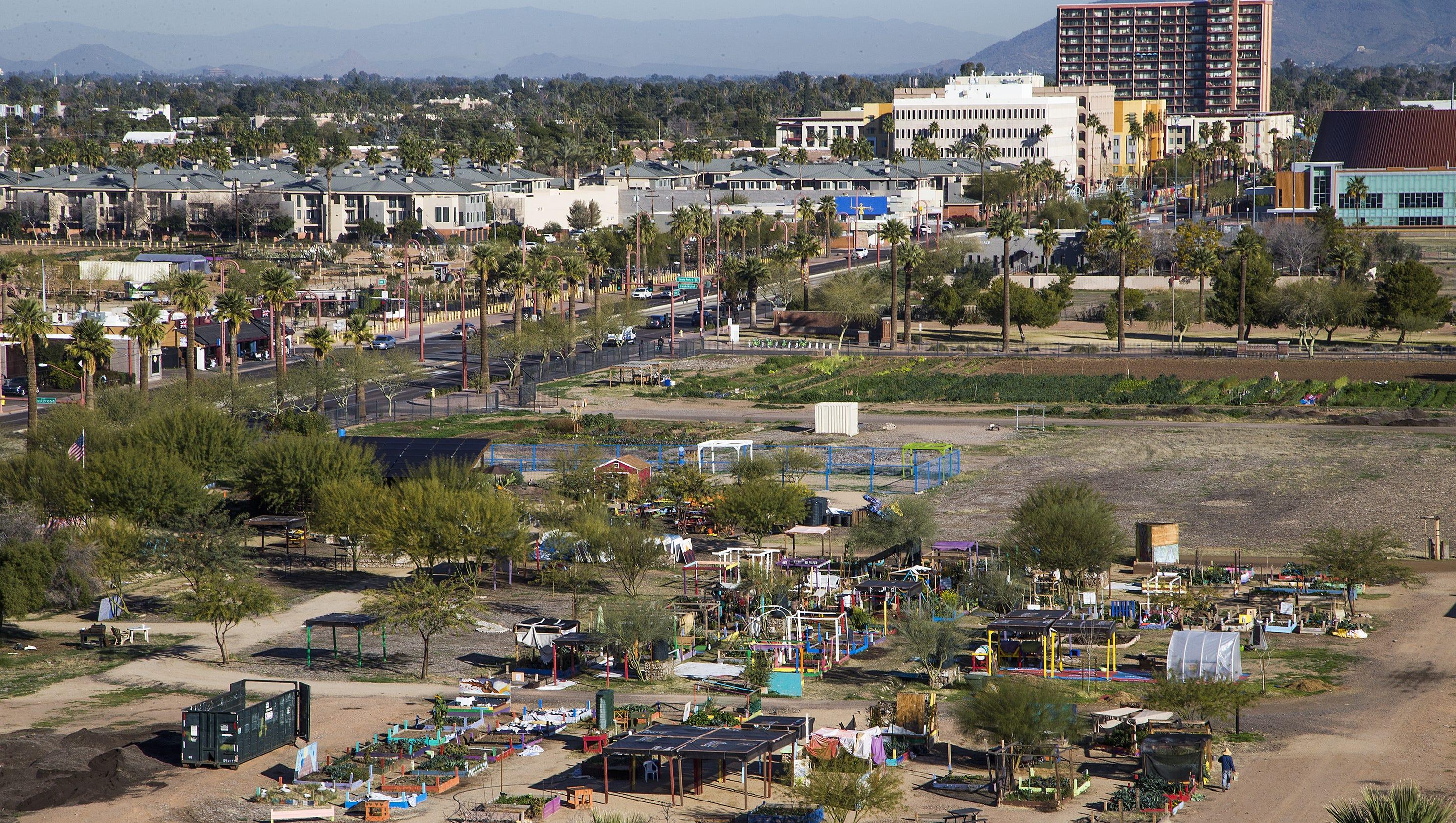 Phoenix Community Garden Seeks Federal Reprieve To Avoid
