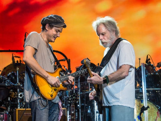 grateful dead members think john mayer is good company. Black Bedroom Furniture Sets. Home Design Ideas