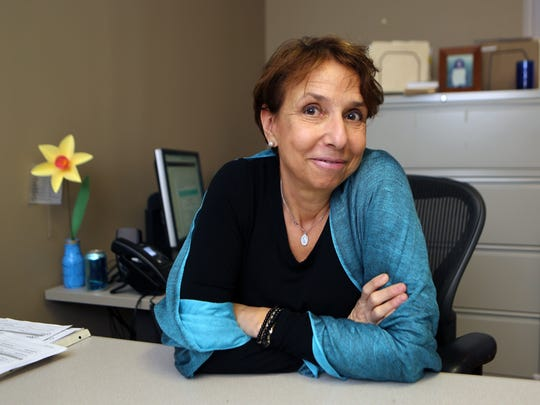 Graciela Heymann, the executive director of the Westchester Hispanic Coalition, is pictured in her office in White Plains, Oct. 21, 2016.