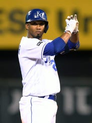 Alcides Esccobar has struggled at times at the plate but has been one of baseball's best defensive shortstops.