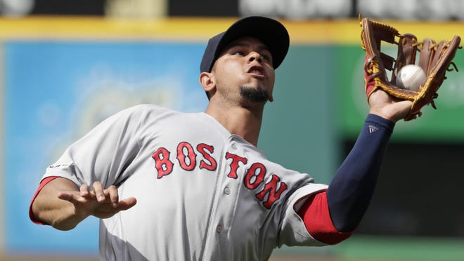 The Red Sox released Marco Hernandez on Sunday.