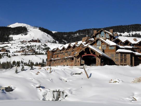 The Yellowstone Club near Big Sky, Montana.