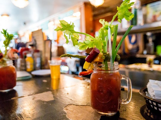 Classic Bloody Marys served at Sobelman's in Milwaukee,