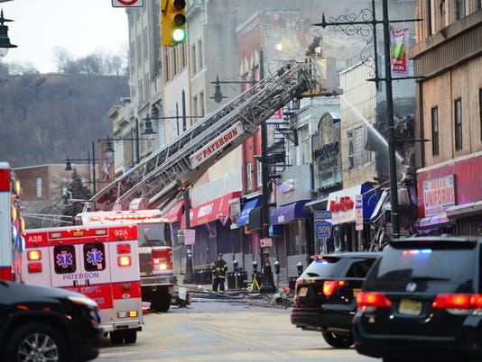 Fire in Paterson