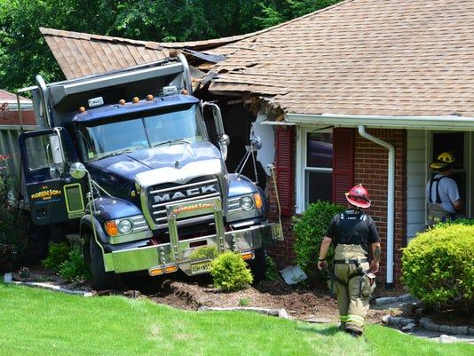 Truck vs House