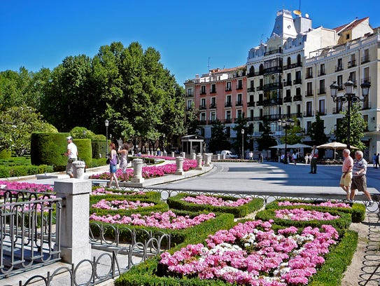 Plaza de Oriente is a part of Madrid, one of the must-see