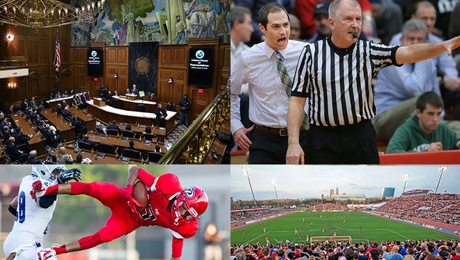 The state legislature will take up several sports-related bills.