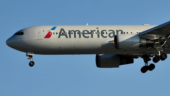 American Airlines has about 300 daily flights at Sky