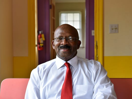 Monroe Jackson, owner of four Monroe's Donuts locations