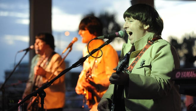 Beatles tribute band Not Quite Fab will perform today during the Christopher's Concerts series.