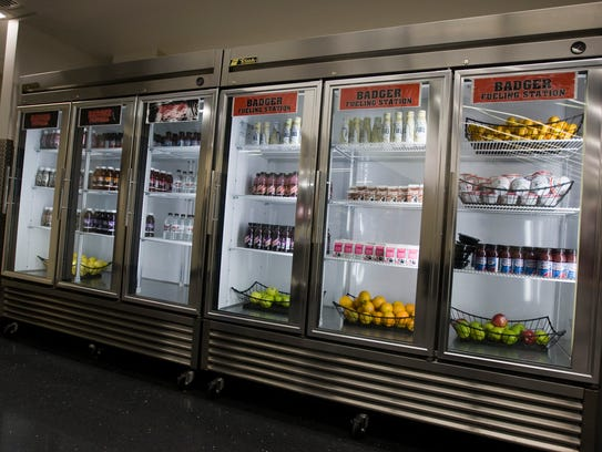 The Nutrition Station, part of the Wisconsin Student