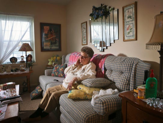 Marge Meffert, 72, suffers from peripheral neuropathy