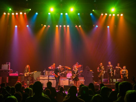 The Tedeschi Trucks Band performs Saturday at the Riverside