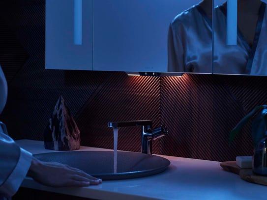 The Kohler Konnect Verdera Voice Lighted Mirror is