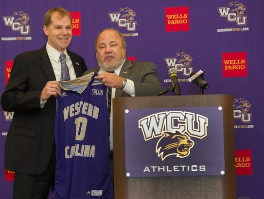 Western Carolina Director of Athletics Randy Eaton