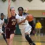 Girls basketball: Pittsford Mendon 40, R-H 35