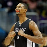 Chris Bosh scored a team-high 24 points for the Heat.