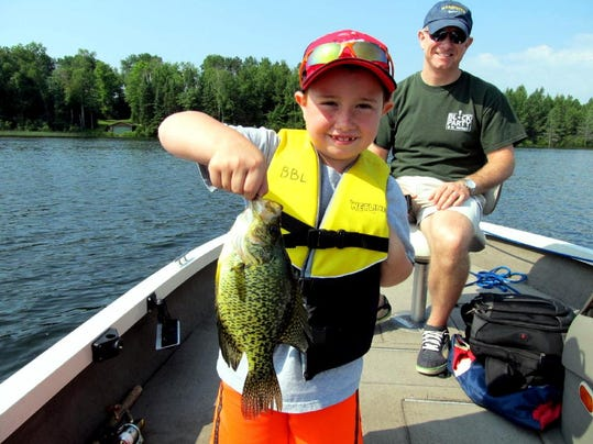 Central wisconsin fishing and hunting report for aug 17 for Charlie s fishing report